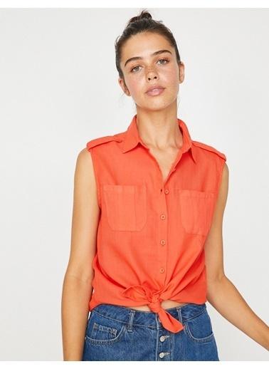 Koton Gömlek Oranj